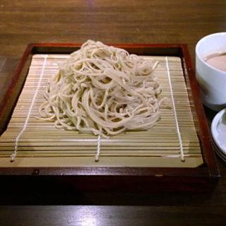 胡麻だれ蕎麦(賛否両論メンズ館 (賛否両論MEN'S館))