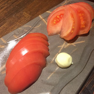 まるごと冷やしトマト(博多 酒佳蔵)