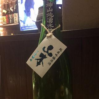 日本酒 山本 純米吟醸原酒 7号酵母(博多 酒佳蔵)