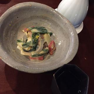 鯖の酢味噌和え(うなぎ林家川越店)
