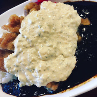 チキン南蛮カレー(喫茶 アザラシ)