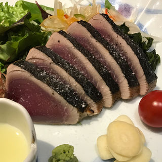 鰹塩たたき(祢保希 赤坂店 (ねぼけ))