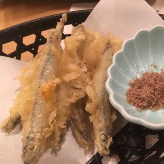 きびなごの天ぷら(まるとく食堂)
