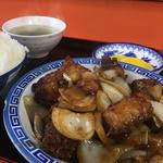 とりみそ定食(小笹飯店)