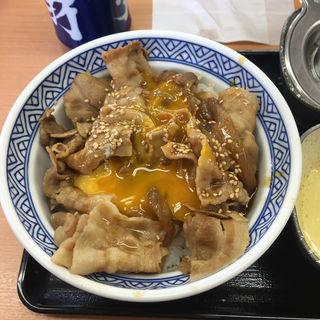 豚スタミナ丼あたま大盛(吉野家 105号線由利本荘店 )