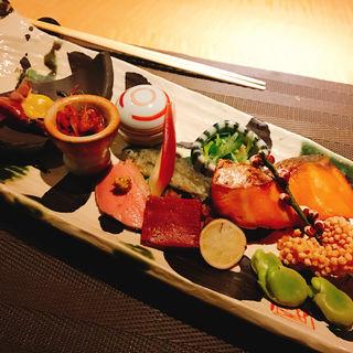 八寸(京の魚 擔 (京の魚 KATSUGI))
