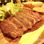 ビーフステーキ(タヒチアンレストラン&バー パペーテ)