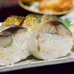 究極のとろさば寿司定食