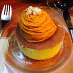 遠野産南瓜ダークホースパンケーキ