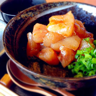 勝浦天然マグロ丼(清水一芳園 京都本店 )