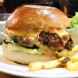 チリチーズバーガー