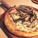 レンコンとごぼうの根菜ジェノベーゼ