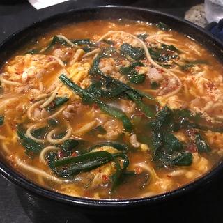辛麺 極辛(博多 王道坊主)