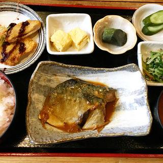 鯖煮定食(居酒屋 あんじ 麩屋町綾小路店 )