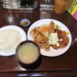 スペシャル定食(ハンバーグの店ベア )