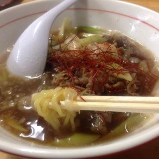 牛肉ラーメン(和華屋 (ワカヤ))