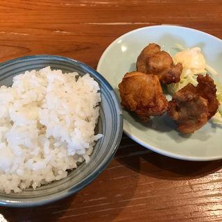 ごはんと唐揚げセット(らぁめん シフク (429))