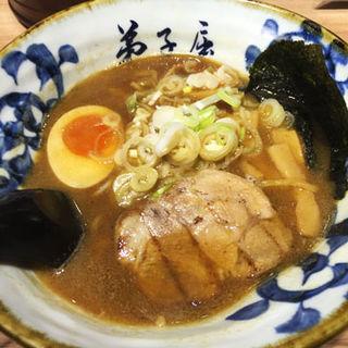 魚介しぼり醤油(弟子屈ラーメン 札幌北広島店 (てしかが))