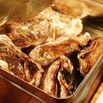 牡蠣の缶々蒸し