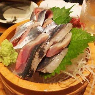 サンマの刺身(北海道厚岸 コレド室町店)