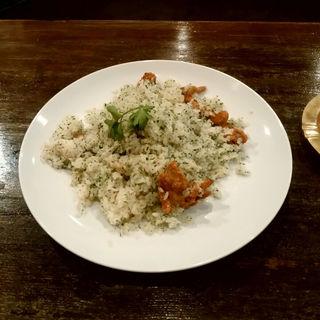 トリ皮のバターライス(カフェコレクション (cafe collection))