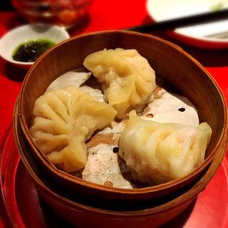 海老蒸し餃子(中村 玄)