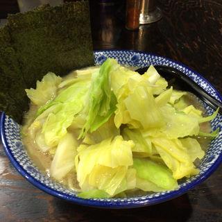 キャベツラーメン(中盛)(豚骨醤油 蕾)