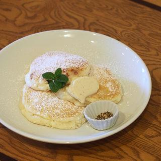 リコッタチーズパンケーキ(サク カフェ (saku cafe))
