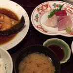 煮魚とお刺身