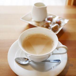 伊豆牛乳のカフェオレ(黒玉テラス&Dog)