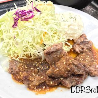 中落ちカルビステーキ定食(松屋 両国店 )