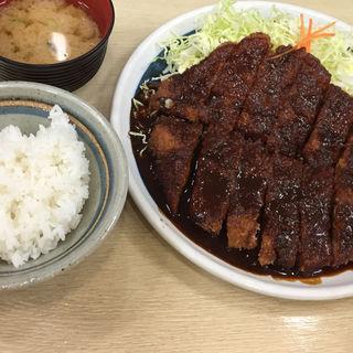 わらじ定食(矢場とん 名古屋駅エスカ店 (やばとん))