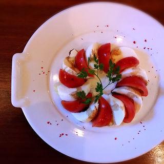 長野県産高糖度トマトアメーラのカプレーゼ(ristorante match&832)