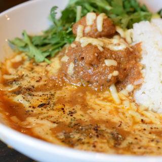 チキンカレー(炙りチーズ&パクチー トッピング)(マサ サンジョウ (MASA3))