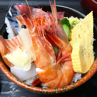 海鮮すし丼(すし・ごはん 馬ん場 (ばんば))