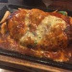 チーズハンバーグ(ライス味噌汁付)
