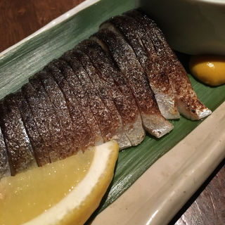 〆鯖の炙り(串房酔゛下北沢店 (クシボウズ))