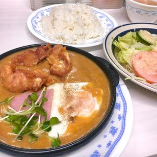 鳥の唐揚カレー(キッチン岡田 (キッチンオカダ))
