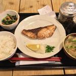長崎産ブリ塩焼き定食