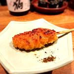 鶏つくね串 柚子味噌焼き