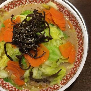 野菜たっぷりヘルシーらーめん(風来軒都城 )