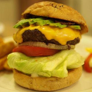 アボカドチーズバーガーセット(Sunchago Burgers)