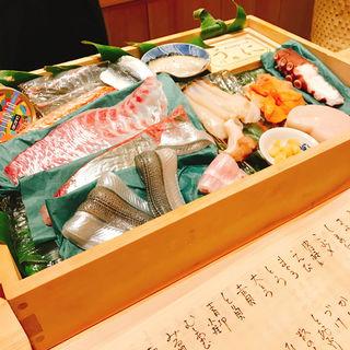 鮨 春のネタボックス(鮨 よし田 )