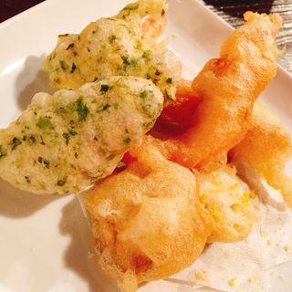 新鮮魚介と野菜のフリット(肉バルビストロ HUNDRED)