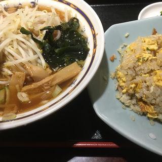【A定食】お好みの麺お好みのご飯物おしんこ(中華レストラン太郎 )