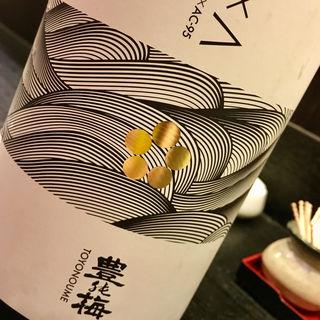 日本酒 豊能梅 純米吟醸 G×A おりがらみ生原酒(焼鳥はなび)