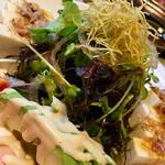 豆腐アボカドサラダ(はま蔵)