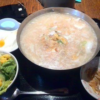 蟹とフカヒレ風スープ炒飯(大門酒家 八丁堀店 (ダイモンシュカ))