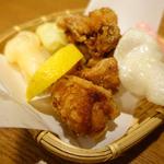 錦爽鶏 鶏の唐揚げ