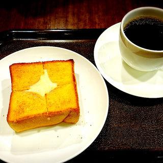 厚切りトースト(上島珈琲店 アミュエスト店)